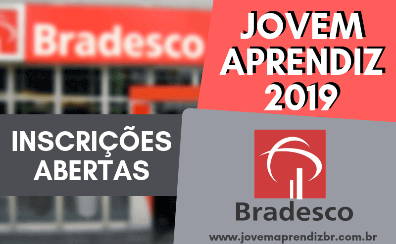 Jovem Aprendiz Bradesco 2019