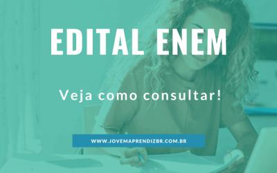 Edital ENEM 2020 – Informações importantes!