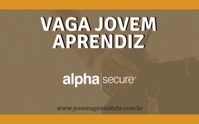 Vaga Jovem Aprendiz Alpha Secure
