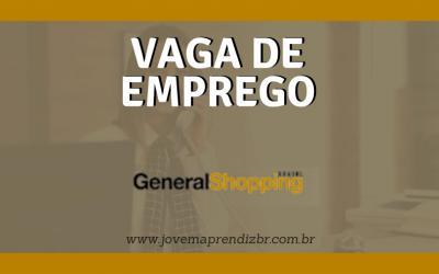 Vaga de emprego General Shopping Brasil