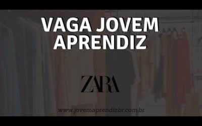 Vaga Jovem Aprendiz Zara Brasil