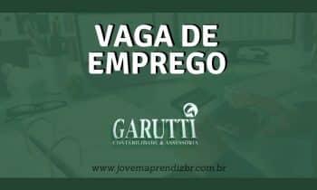 Vaga de emprego Garutti