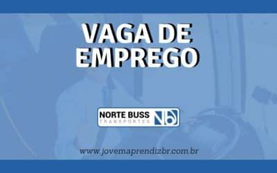 Vaga de emprego Norte Buss Transportes