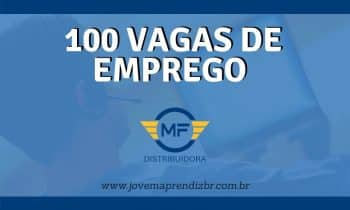100 Vagas de emprego Mantfarma