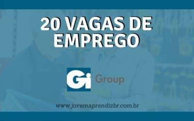 20 Vagas de emprego Gi Group